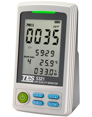 台湾泰仕 TES-5321空气质量监测计
