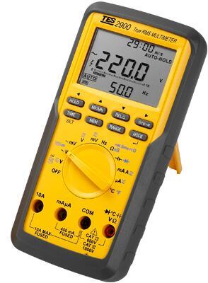 TES-2900真有效值三用电表
