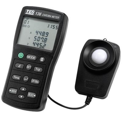TES-136色温色度计