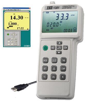 TES-1381K电导计、酸碱度计