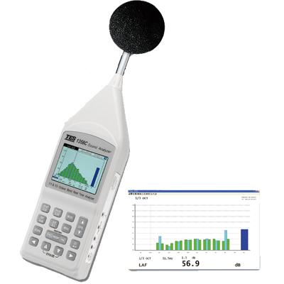 TES-1358C八音频分析仪