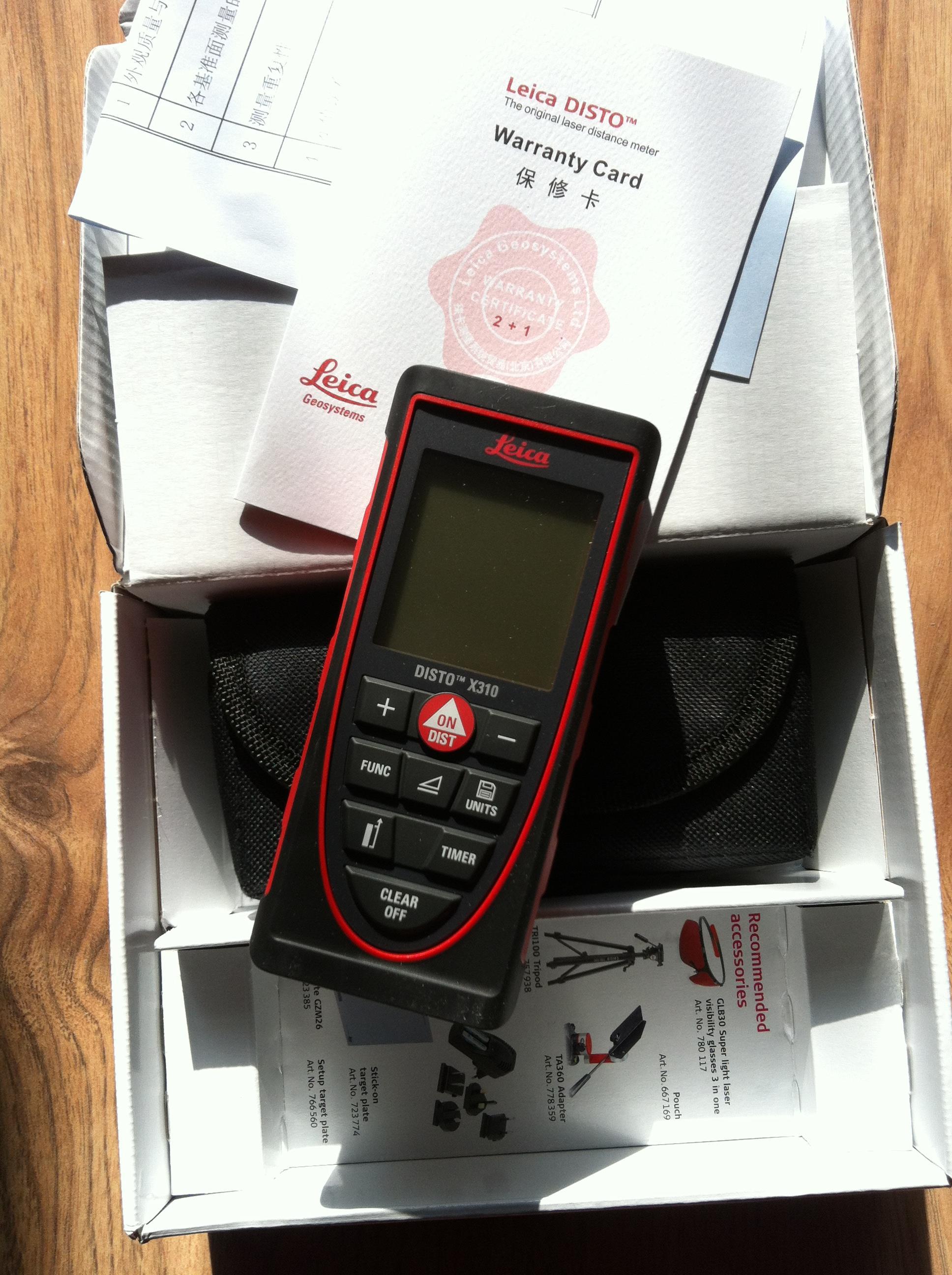 激光测距仪徕卡迪士通X310