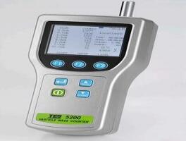泰仕TES-5200粒子质量浓度计数器