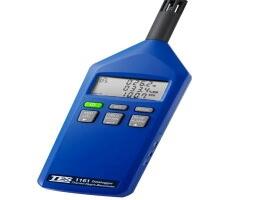 泰仕TES-1160三合一大气压温湿度计