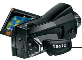 德图testo 876可旋转显示屏的红外热像仪